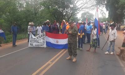 Ley que castiga invasiones: campesinos e indígenas se extienden a San Pedro