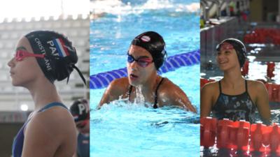 Una promesa para la natación paraguaya
