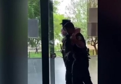 El estado de salud de los policías heridos