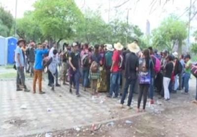 Manifestación y disturbios: Indígenas llegaron al Congreso.