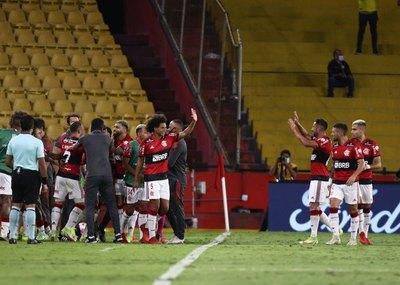 Flamengo cumple con la lógica y habrá final brasileña por segunda vez consecutiva