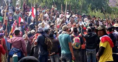 La Nación / Tras fuertes incidentes, sancionan ley que endurece penas a invasores