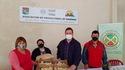 Pequeños productores de Itapúa reciben beneficios