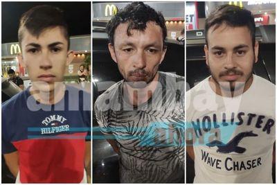 Varios aprehendidos con marihuana en Pedro Juan Caballero
