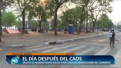 Plaza de Armas: El día después del caos