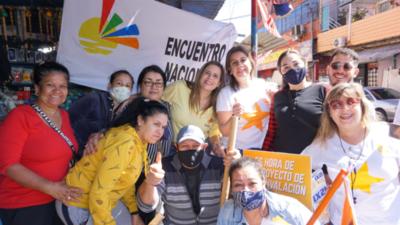 Fuerte apoyo a candidata Sylvia Villalba por parte de Katya González
