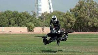 La moto voladora: ¡Ya es una realidad!