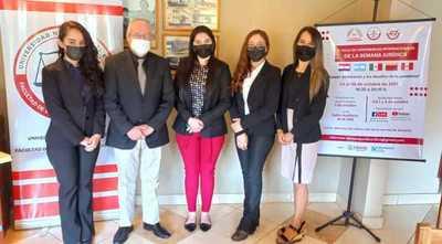 Preparan Semana Jurídica en la Facultad de Derecho de la UNE