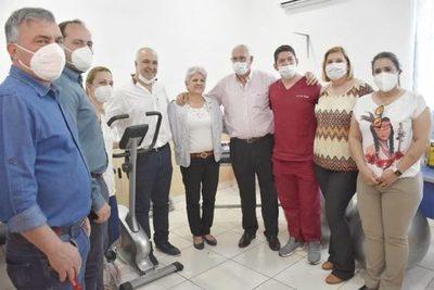 HISTÓRICO: HOSPITAL DE NATALIO EL PRIMERO EN EL INTERIOR DEL PAÍS EN CONTAR CON EL SERVICIO DE KINESIOLOGÍA Y RECUPERACIÓN