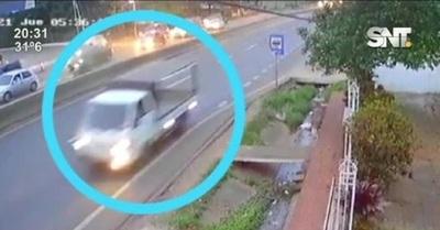 Conductor sospechoso se presentó y lo imputaron