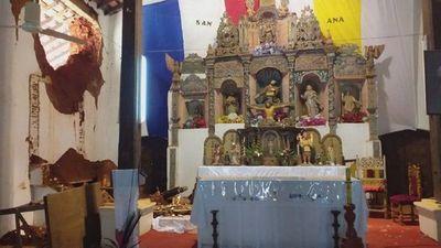 Denuncian  incumplimiento en la reparación de la iglesia San Joaquín