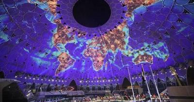 La Nación / Postergada Expo 2020 de Dubái tuvo ayer una espectacular apertura