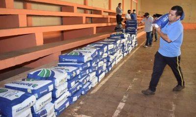 Se lleva adelante plan de apoyo a pequeños productores de maíz en San Cosme y Damián