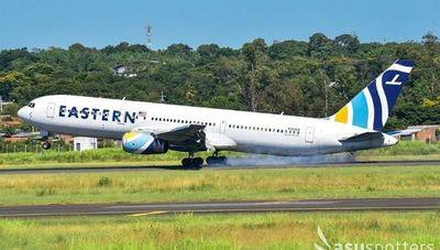 Eastern Airlines demora reinicio de vuelos a Paraguay