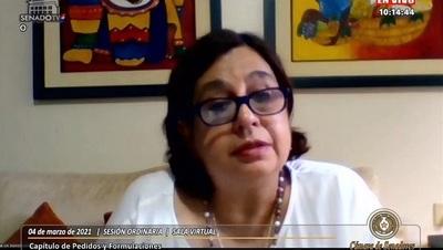 Esperanza Martínez asegura que ley que criminaliza invasiones solo busca amedrentar