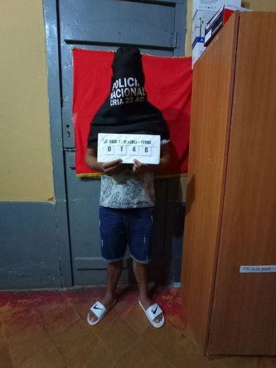 Recapturan a miembro del PCC que se había fugado de la cárcel de Pedro Juan