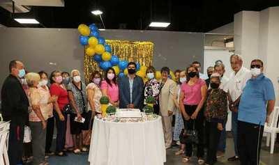 Celebran el Día del adulto mayor en Luque •