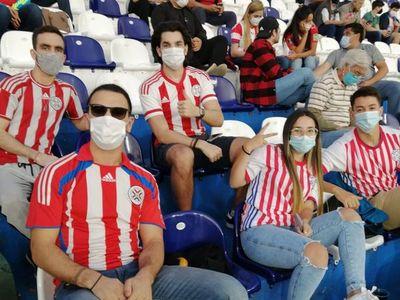 Confirman 50% de aforo en el juego entre Paraguay y Argentina