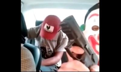 """Salen a escena los """"Justicieros Encarnacenos"""" amenazando con cortar brazos y dedos a los mondaha kuéra"""