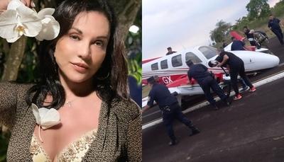 Aeronave de Zuni Castiñeira sufrió un accidente tras aterrizar