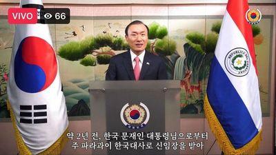 Embajador de Corea valora cooperación en aniversario de su país