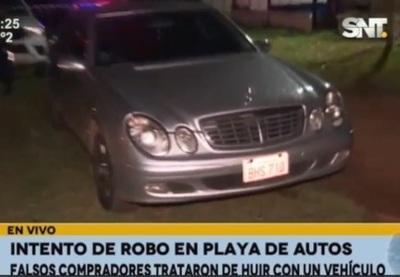 Inseguridad al día en San Lorenzo: Pidieron probar un auto para luego darse a la fuga