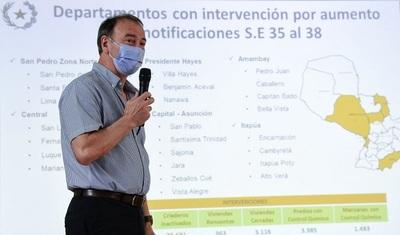 Registran aumento sostenido de notificaciones de dengue