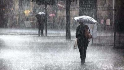 Lluvias con tormentas persisten durante el fin de semana