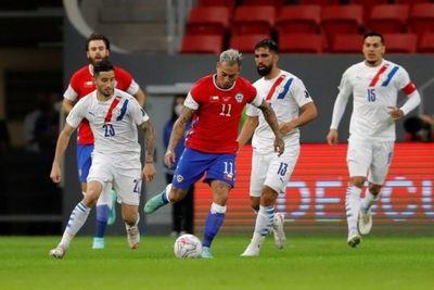 Dos nuevas bajas en Chile a días del partido ante Paraguay