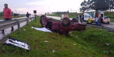 Accidente de tránsito en Caaguazú deja dos esteñas fallecidas