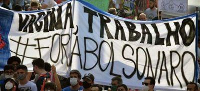 Decenas de miles de brasileños protestan para pedir Fuera Bolsonaro