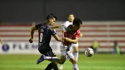 River Plate y Guaireña no se hacen daño
