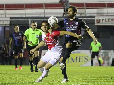 River Plate y Guaireña FC igualaron 1-1 en Los Jardines del Kelito.