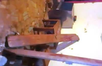 Pelea entre barras y destrozos en Luque •