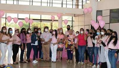 Octubre rosa en la Municipalidad de Luque •