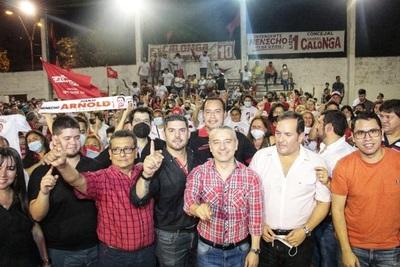 """Nenecho Rodríguez llega al electorado """"con obras, eso es lo que la gente reconoce"""", afirma diputado Raúl Latorre"""