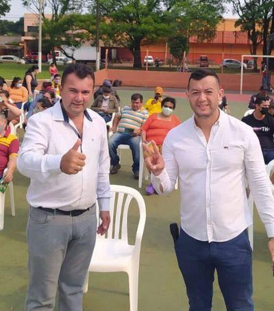 Fenómeno social y Político, Sandro Sánchez y Marcial Lezcano aglutinan mas de 1.000 personas