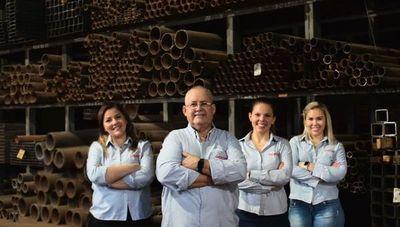 Acirón Metales SA invierte alrededor de US$ 50.000 e inaugura nueva sucursal