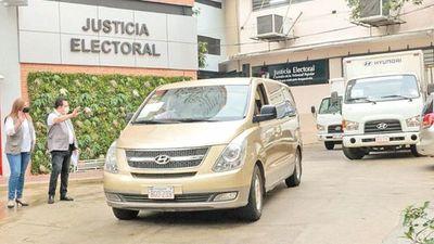 TSJE inició envío de materiales a los 261 distritos para municipales