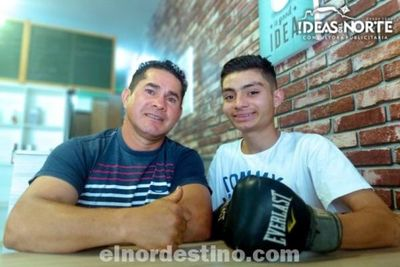 Como una Abeja: Juvenil púgil será el primer boxeador que representará a Pedro Juan Caballero en Torneo Nacional