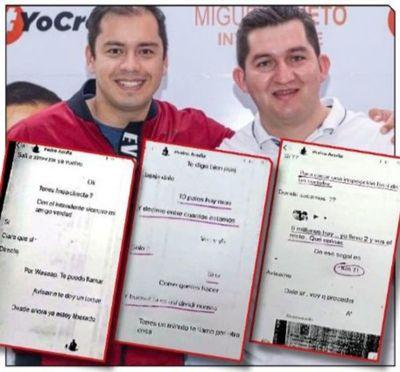 Descubiertos en sus tranzadas, liberales corruptos se juntan al ladrón Miguel Prieto