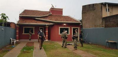 Allanan inmuebles utilizados supuestamente por el PCC en la frontera