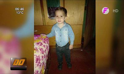 Niño despareció tras supuestamente caer a un arroyo