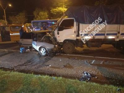 Itá: Km 35 accidente automotor deja un fallecido