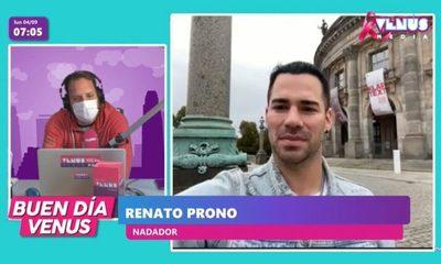 Renato Prono entre los mejores nadadores del mundo