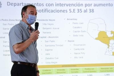 Se registra aumento sostenido de índices de infestación larvaria