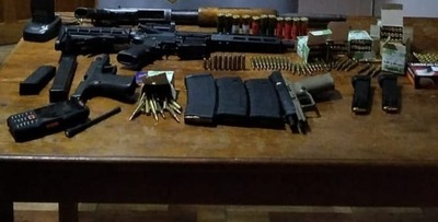 Arma Tráfico: Paraguay proveedor de grupos criminales de Brasil