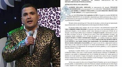 """""""Abogado Leopardo"""" afirma haber recibido amenazas de muerte y pide no ir a una cárcel"""