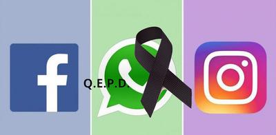 WhatsApp, Facebook e Instagram están caídos