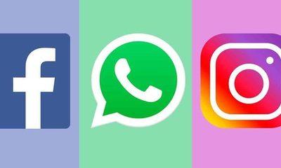 Facebook, WhatsApp e Instagram sin servicio a nivel mundial